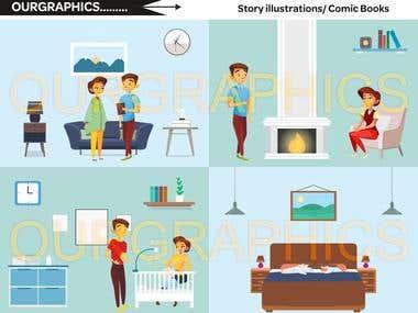Story Illustrations