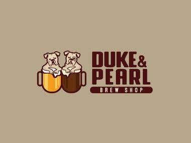 Logo Café bar.