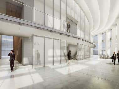 3D Architectural Interior