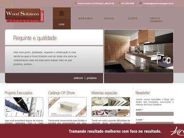 Website - Ws Marcenaria e Design