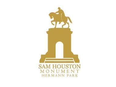 Sam Houston Monument logo