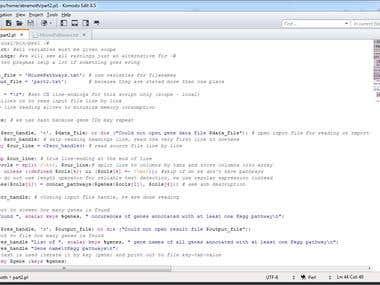 Bioinformatics assignment