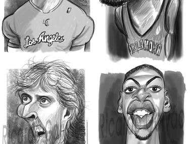 Sketch Caricatures