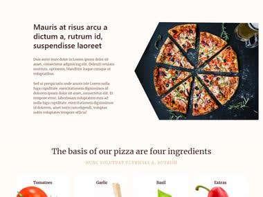 Pizza Web Site