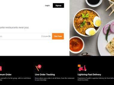 Food Delivery Venture