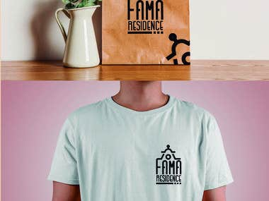 LOGO FOR A NEW BOUTIQUE HOTEL FAMA RESIDENCE