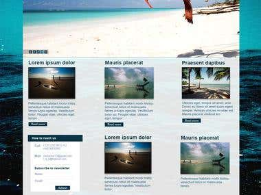 Website for Kuakata Seabeach