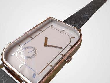 3D Watch Design