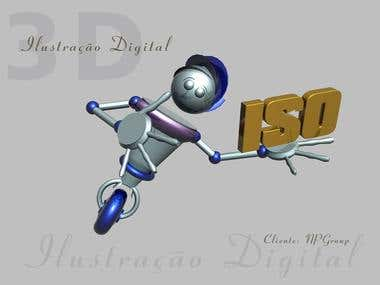 Ilustration 3D
