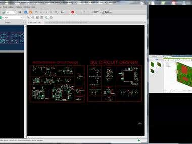 Eagle CAD V9.1 3G custom board ( PCB & PCBA)