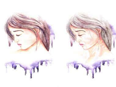 Alter Illustration