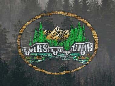 Powerstroke Camping Logo