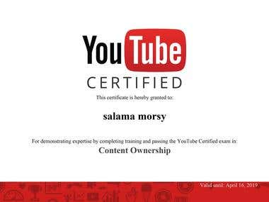 content ownership certified