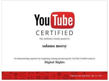 Digital rights certified