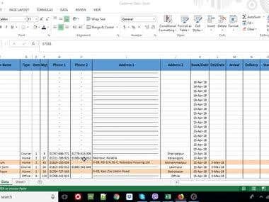 Database updating for ICC Cargo Roma SAS