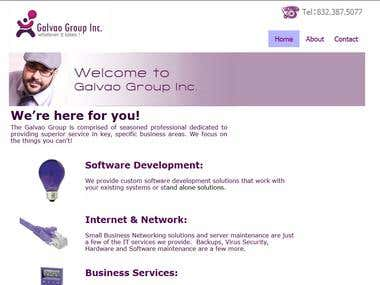 Website Design for a US Baesd IT Consulting Company