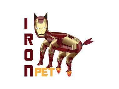 Iron pet design
