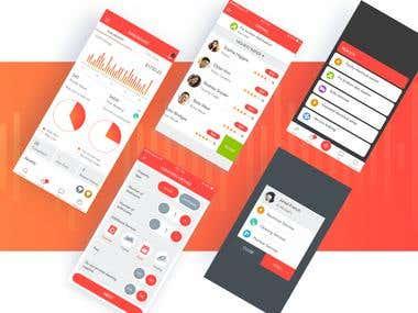 Dashboard - Mobile app Complete Management System Inventory
