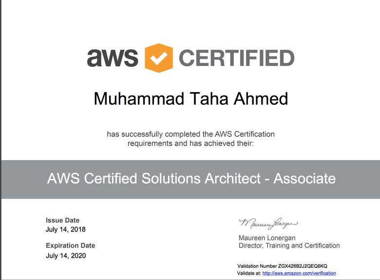 Amazon Web Services Certification | Freelancer