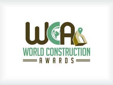 World construction Awards Logo design