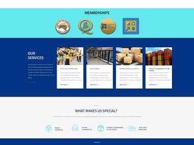Total Marine Supply & Logistics Website