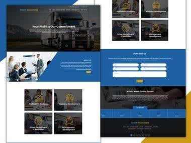 Shore Association website development