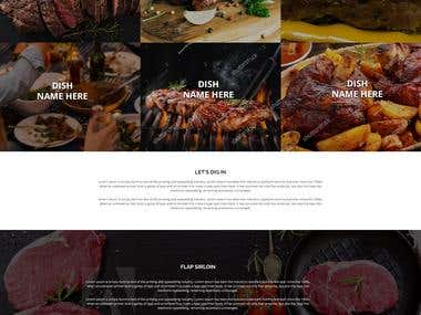 Campaign Specially Meat website