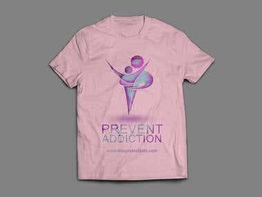 T shirt design in photoshop