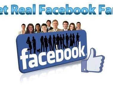 Facebook Real Fans
