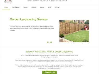 Website Design - Bellamay Landscaping