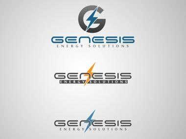 GENESIS Energy Solutions - Logo Design