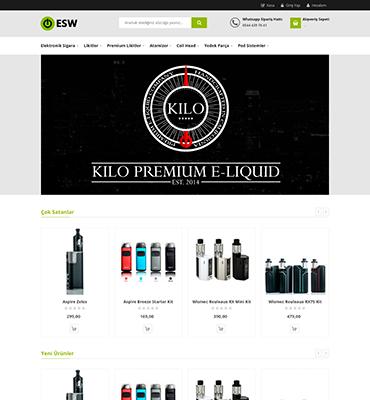 ESW - E Cigarette Store - MAGENTO 2.1