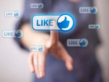 Facebook Post/Photo Real Likes
