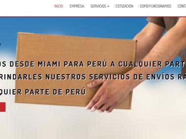 Web de envíos y cargas - Enviamoscarga.com
