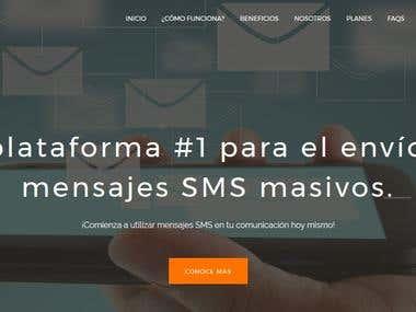 Plataforma de envió de SMS - SendingDesk