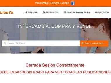 Web de intercambios - IntercambiosYa