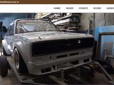 Motors MT Website Screenshots