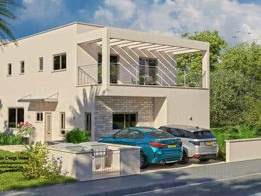 3D Exterior Architecture visualization