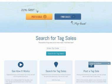 Tag Sales Online Marketplace