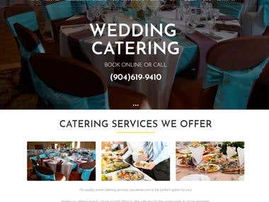 Catering and Event Website in WordPress