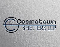 Cosmotown Shelters Logo Design