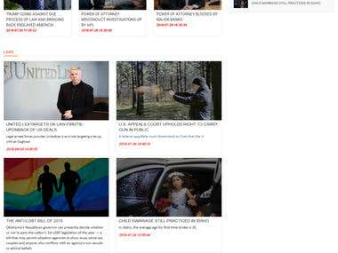 PHP Based Blog Website