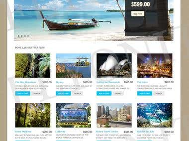 Website Travel group