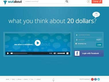 Social web application