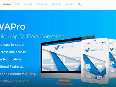 Progressive web App