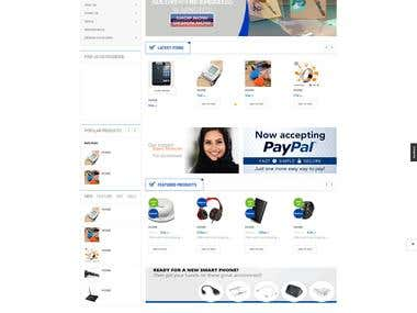 Cool Gadgets E-commerce Website