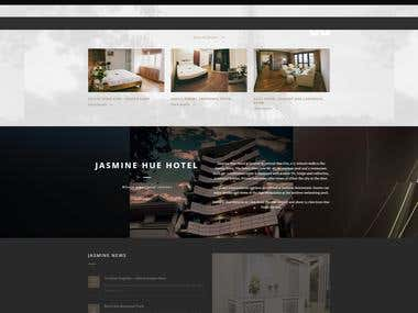 Home Booking WordPress Website