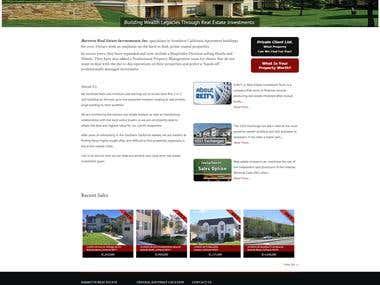 Property Real-estate Website