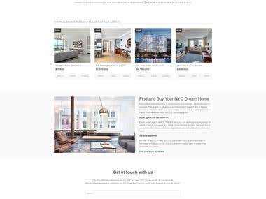 Elika Real estate WordPress Website