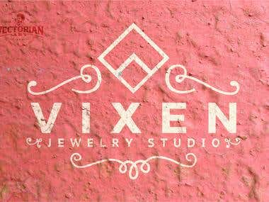 Logo Design: VIXEN Jewelry Studio